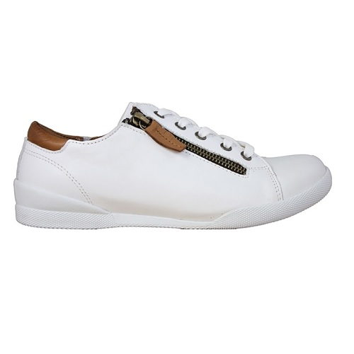 Charlotte Sneakers Vit/Brandy