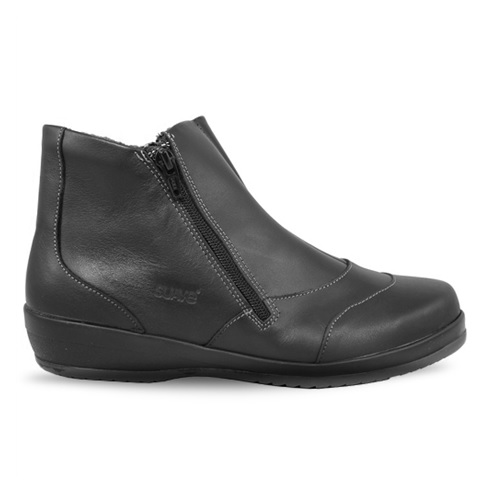 Suave Naava Zipper Boot Svart