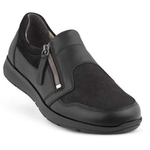 New Feet OrthoStretch Loafer Svart stående